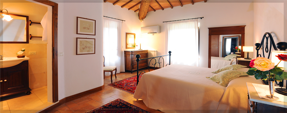Rest comfortably in our Tuscan designed guest rooms.