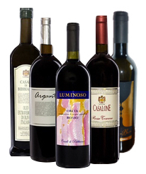 Mix Case with Wine & Olive Oil